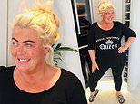 Gemma Collins goes makeup free and declares she's 'unapologetic' in stylish snap