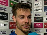 Cesar Azpilicueta says Giovanni Lo Celso should have been sent off after VAR misses clear stamp