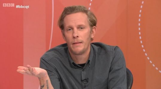 Laurence Fox accuses black and working-class actors of only complaining once they are famous