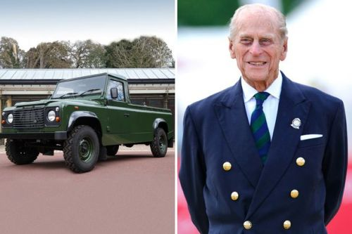 First photos of Prince Philip's funeral transportation which he designed