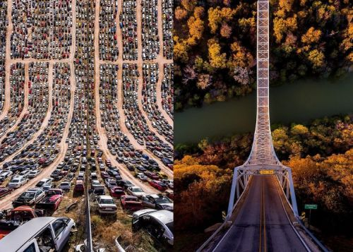 25 amazing aerial photographs with a new perspective of the world