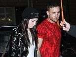 Liam Payne steps out hand-in-hand with girlfriend Maya Henry as they attend concert in rainy Paris