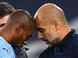 Fernandinho facing 'four or six weeks out', reveals Guardiola as Ake joins injury list at City