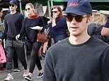 Hayden Christensen keeps a low profile with mystery woman at farmers market