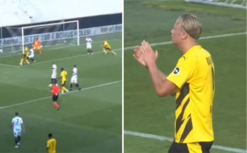 Look away, Man Utd: Erling Haaland applauds Jude Bellingham's stunning assist on first outing for Dortmund