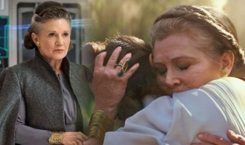 Star Wars 9: Rise of Skywalker Leia moment EXPLAINED? Is this what's going on in trailer?