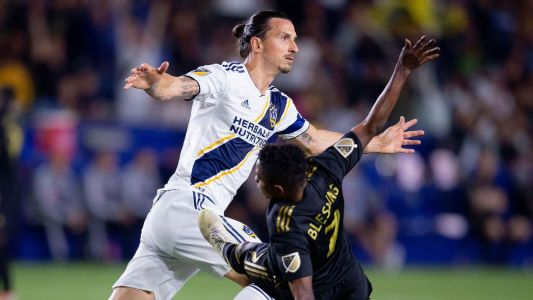 Ibrahimovic hat trick leads Galaxy past LAFC