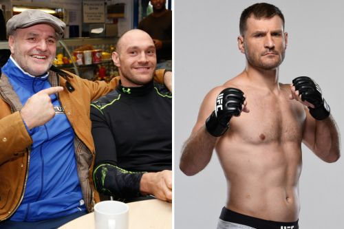 Tyson Fury says racist abuse made him feel an outsider as he confirms plan to box UFC king Stipe Miocic