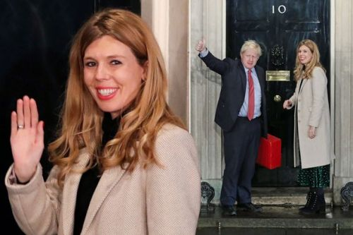 Boris Johnson's girlfriend Carrie Symonds cements place at the top as she walks into Number 10 with 'Bozzie Bear'
