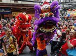 Millions around the globe usher in the Chinese New Year of the Rat - except in China