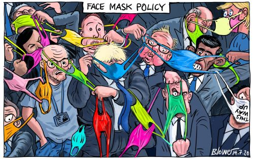 Tuesday morning news briefing: Wear a mask in shops or risk fine