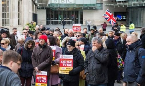 BBC backlash: Over-75s prepare to IGNORE licence fee payments in 'peasants' revolt'