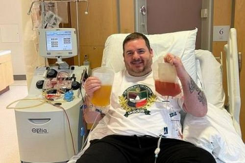 Selfless Scot saves life of dying German stranger after TV stem cell appeal