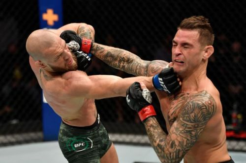 Conor McGregor knocked out by Dustin Poirier in second round of UFC 257 rematch