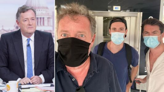 Piers Morgan dodges quarantine as he jets home from France holiday hours before UK travel rules change
