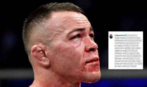 Colby Covington issues statement from hospital after breaking jaw in Kamaru Usman loss
