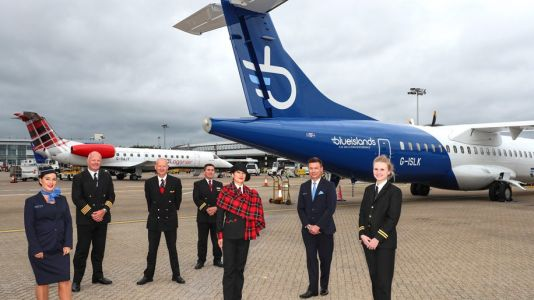 """Loganair and Blue Islands launch partnership """"to connect UK regions"""""""