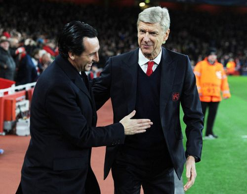 Arsene Wenger hits back at Unai Emery and denies Arsenal were in decline