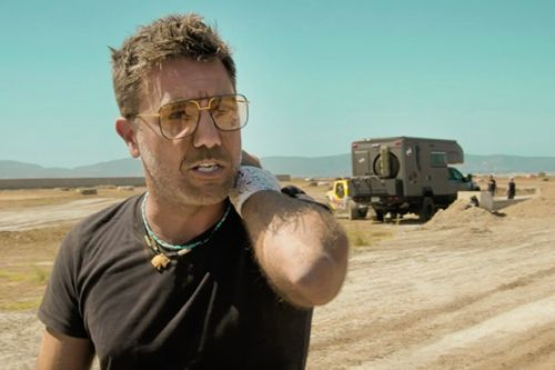 """Gino D'Acampo """"almost died"""" in a crash on American Road Trip with Gordon and Fred"""