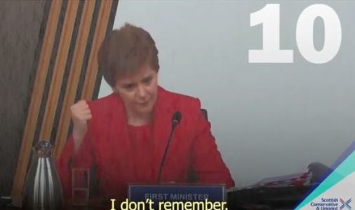 Nicola Sturgeon ridiculed over failure to 'recollect' 50 times in crucial conduct hearing