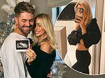 Pregnant Danielle Fogarty shares first glimpse of bump as she reveals she already knows baby's sex