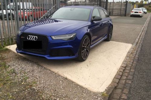 Audi owner wins 10-month compensation battle after £92k car damaged by loose road chippings