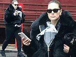 Ashley Graham spotted toting little baby Isaac in New York in first sighting out since giving birth