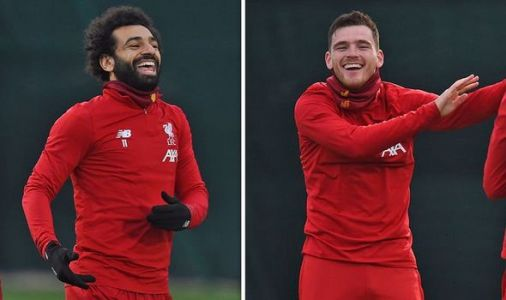 The truth behind Mohamed Salah and Andy Robertson's return to Liverpool training