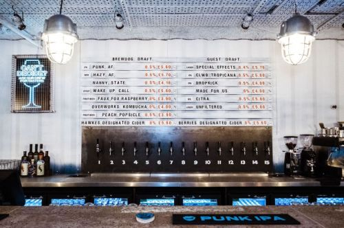 Brewing giant BrewDog announces launch of world's first alcohol free bar