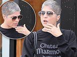 Selma Blair wearing what appears to be an engagement ring spurring speculation she's engaged