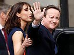 David Cameron opens up on life with his wife Samantha in his memoirs
