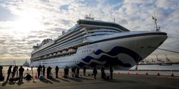 2 people from the Princess Diamond cruise ship have died from the coronavirus