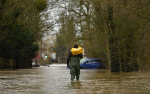 UK weather: Storm Dennis sent '900 cars' worth of water a second through some villages as flooding threat remains