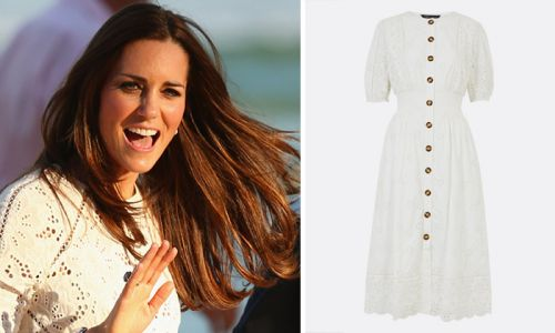 Kate Middleton would love Marks & Spencer's new white summer dress