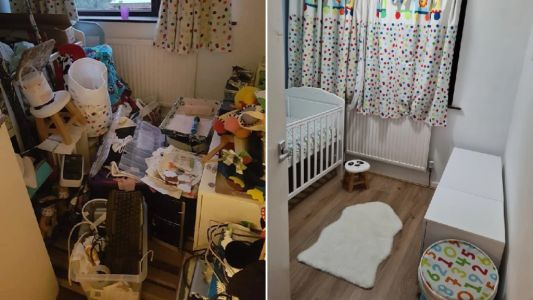 Single mum whose house became a 'dumping ground' due to depression completes amazing DIY makeover in lockdown