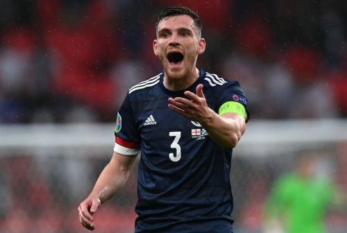 Andy Robertson's list of admirers grow after impressive start to Euro 2020