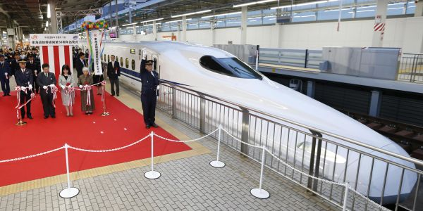 Japan's bullet train has a new model that can run even during an earthquake. Here's the history of the country's iconic high-speed railway