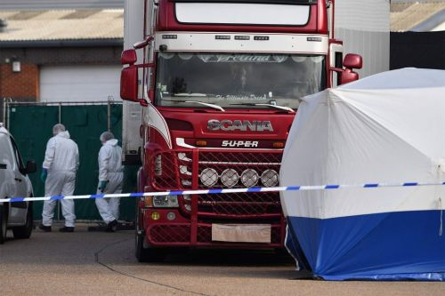 Essex lorry deaths - Man, 23, arrested over the deaths of 39 migrants found in back of trailer