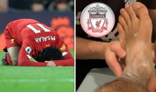 Liverpool star Mohamed Salah posts ankle injury update after withdrawal from Egypt squad