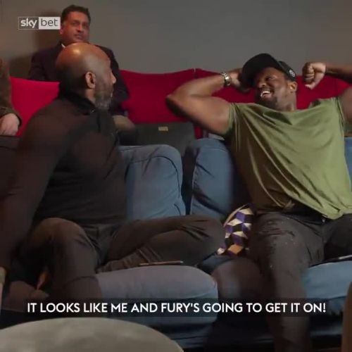 Watch Dillian Whyte's reactions to Tyson Fury's win vs Deontay Wilder as he urges ref to stop fight and slams decisions