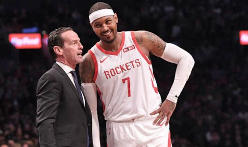 Carmelo Anthony: NBA legend makes EXTRAORDINARY claim about Rockets star amid reports