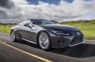 Lexus LC coupe loses weight and gains tech for 2020