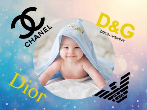 The top designer-inspired baby names in the UK