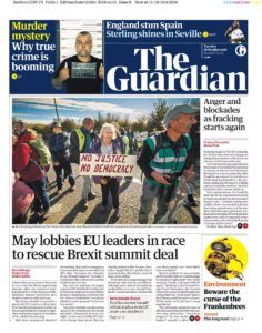 Newslinks for Tuesday 16th October 2018