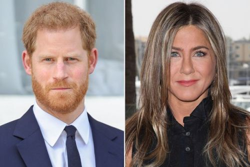 Prince Harry was 'obsessed with Jennifer Aniston and text Friends star emojis'