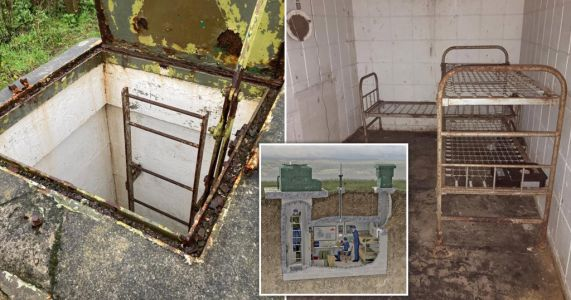 You can buy a Cold War underground bunker in Cornwall for £25,000