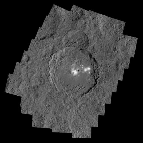 Bright deposits in Ceres' Occator Crater hint at ongoing cryovolcanism