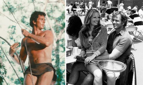 Tarzan actor Ron Ely's wife stabbed to death by couple's son before police shot him dead