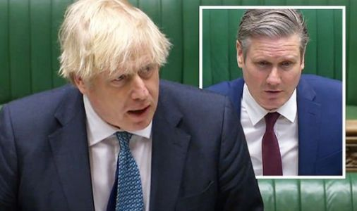 PMQs LIVE: Gloves off as Starmer posts 'shameful' attack on Boris before Commons