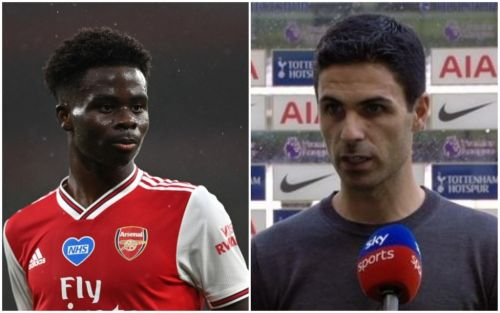 Mikel Arteta reveals why Bukayo Saka is benched for Arsenal's clash vs Tottenham